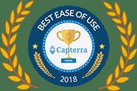 Capterra Best Ease of Use Award