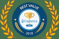Capterra Best Value Award