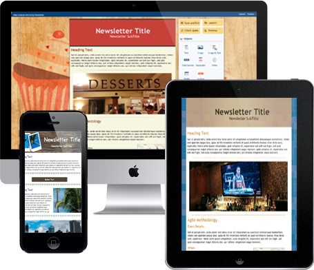 Professional Email Newsletters