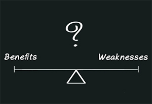 Benefits and Weaknesses of a Linear Rating Scale