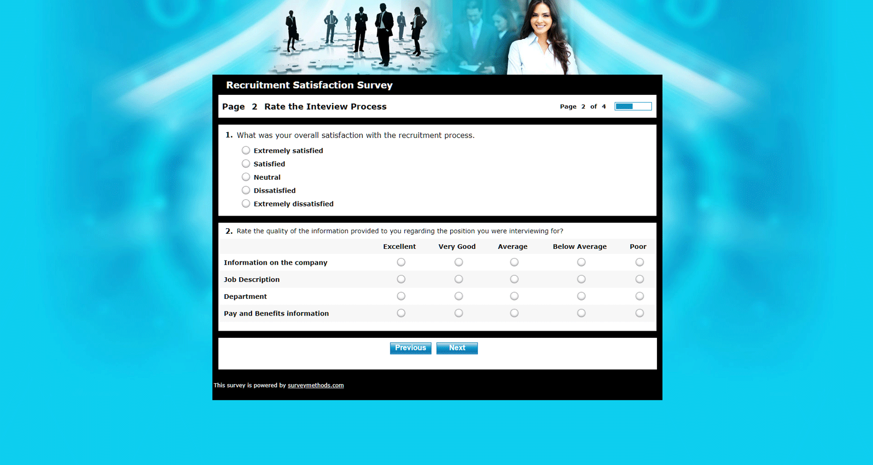Recruitment Satisfaction Survey