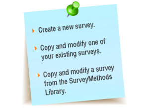 Create Online Surveys Using Survey Software